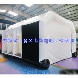 Beweglicher automatischer aufblasbarer Spray-Stand/aufblasbare bewegliche Spray-Lack-Stände für Auto
