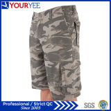 Shorts Relaxed do trabalho de Camo do estilo da carga do ajuste (YGK120)
