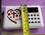 기독교 성경 라디오 증폭기 USB TF FM 카드 라디오