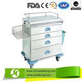 Chariot médical à soins de différentes tailles simples pour le traitement