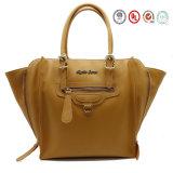 Signora Designer Plain Pattern PU Leather Handbags con Highquality (810775)