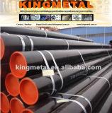 """Preço soldado ERW da tubulação de aço de carbono do gás do petróleo de X52 Sch40 12 """" de China"""