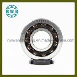 Roulements angulaires de contact de rangée simple pour l'axe de machine-outil de précision, pièces mécaniques, roulement à billes, roulement à rouleaux, roulements (7306B)