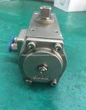 Edelstahl-Winkelausschlag-einzelner verantwortlicher pneumatischer Arbeitszylinder