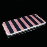 Línea teléfono celular del polvo IMD/cubierta/caso móviles de la cebra de la pintura para el iPhone 5/6/6p