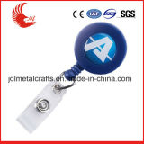 Hot Sale Strong Keychain de Plastic Material Retractable Badge Reel
