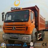 アフリカの市場のための40tons 20cbm 10wheels Rhd Beiben Ng80のダンプカー