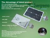alumbrado público solar de la batería de litio 20W