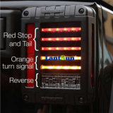 2007-16 per l'indicatore luminoso della rottura del kit degli indicatori luminosi della coda del freno di Jk LED del Wrangler della jeep, fanale posteriore chiaro d'inversione degli indicatori luminosi di segnale di girata