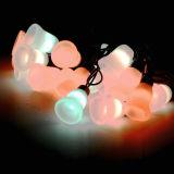 3D Bell Form-Weihnachtszeichenkette-Licht für Feiertags-Dekoration