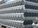 Sale caliente Tubo De Acero Galvanizado BS1387 galvanizado alrededor de peso del tubo de acero
