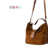 Handtassen Whd1605-27 van de Ontwerper van dame Genuine Suede Leather New Stijlen de In het groot