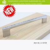 Ручки ящика мебели стеклянного шкафа кристалла самомоднейшей конструкции высокого качества