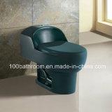 Gesundheitliches Ware amerikanisches Market One Piece Floor - eingehangenes Colorfull Toilet (YB1005-Color)