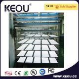 luz de painel do diodo emissor de luz de 30X30cm 30X60cm 30X120cm 60X60cm