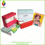 Cosmetic luxuoso Paper Packing Box com Glitter