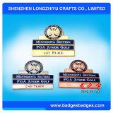 Angepasst Druckguss-Metallnamepin-Abzeichen mit Firma-Firmenzeichen