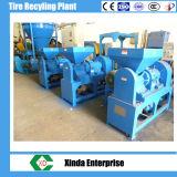 De rubber Installatie van het Recycling van de Band van het Schroot van de Molenaar van het Poeder Superfine