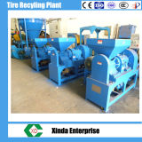 Planta de Reciclagem de pneus de sucata Superfine Miller de pó de borracha