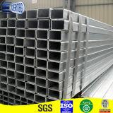 Tubo d'acciaio rettangolare galvanizzato Q195/Q235 per materiale buliding