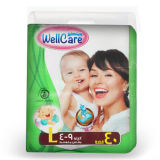 Morbidezza & Breathable Diapers con Highquality (l)