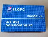 2s160-10 válvula de solenóide impermeável do aço inoxidável da água da bobina de 3/8 de polegada