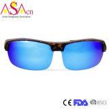 Gafas de sol polarizadas deporte Tr90 del diseñador de moda de los hombres (14361)