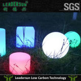 Muebles ligeros de Gardern LED de la iluminación de la barra de la bola plástica del PE (Ldx-B11)