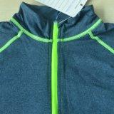 Les Mens 1/4 de polyester de Softshell ferment la fermeture éclair les pulls molletonnés r3fléchissants pour des sports