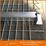 Aceally a galvanisé la plate-forme de treillis métallique en métal pour le défilement ligne par ligne de palette
