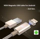 자석 마이크로 컴퓨터 USB 데이터 케이블 및 비용을 부과 케이블