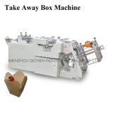 Machine à grande vitesse de fabrication de cartons d'hamburger d'exécution facile (QH-9905)