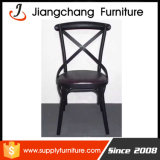 أسلوب ريفيّ بيضاء [كروسّبك] فولاذ حديقة تصميم كرسي تثبيت