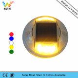 Neuer gelber blinkendes Licht-Plastiksolarstraßen-Markierungs-Reflektor
