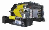 Farben-hohe Präzisions-flexographische Druck-Maschine des Plastik4 (YTB-4800)