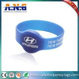 Wristband круга RFID кремния сытный и браслеты RFID для согласий & случаев