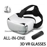 Vr Google cartón del receptor de cabeza de vídeo 3D caja de los vidrios