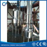 높은 능률적인 공장 가격 스테인리스 산업 강제적인 회람 증발기 진공 주황색 물 증류소