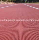 Atlética de goma Mat seguimiento del material de superficie de rodadura, Correr Corte piso