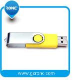 Azionamento istantaneo del USB Pend del metallo del disco del USB della parte girevole di promozione