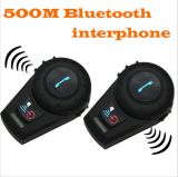 Bt Multi Interphone Casque de mode Interphone 500m Casque Bluetooth casque Bt802 pour vélo et moto