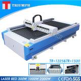 Laser-Faser-Laser-Ausschnitt-Maschine des Triumph-metallschneidende 1300*2500mm