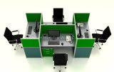 Рабочая станция самомоднейшей перегородки кабин офиса высокой модульная (HF-YZ093)