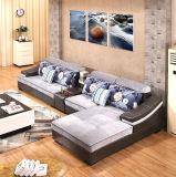 Moderner Entwurfs-modernes ledernes Sofa