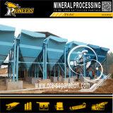 傾向がある管の鉱石のスライム除去プロセス金排水鉱山の重力の濃厚剤