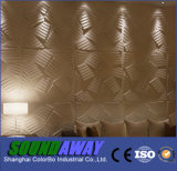 Da onda amigável da parede da decoração da parede de Eco painel decorativo