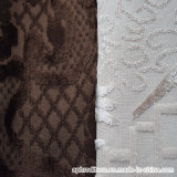 Tissu décoratif de polyester tissé par jacquard chaud pour le sofa