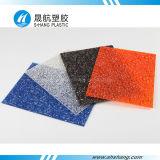 Rivestimento del diamante del policarbonato impresso colore arancione