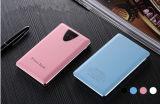Die Energien-Bank Deckel-der beweglichen Telefon-Aufladeeinheit AluminiumFram LCD des Leder-10000mAh