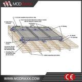Sustentação solar da montagem do picovolt da escora à terra à moda do borne do parafuso (MD0040)